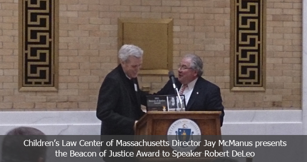 Jay McManus and Speaker DeLeo