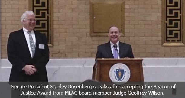 Senate President Stanley Rosenberg