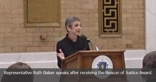 Representative Ruth Balser