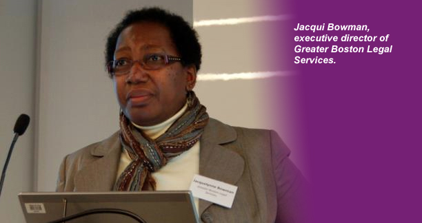 Jacqui Bowman, Executive Director of GBLS