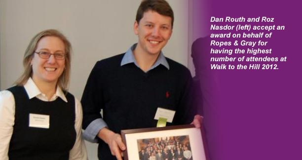 Roz Nasdor and Dan Routh