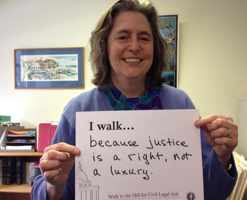 I walk because justice is a right, not a luxury
