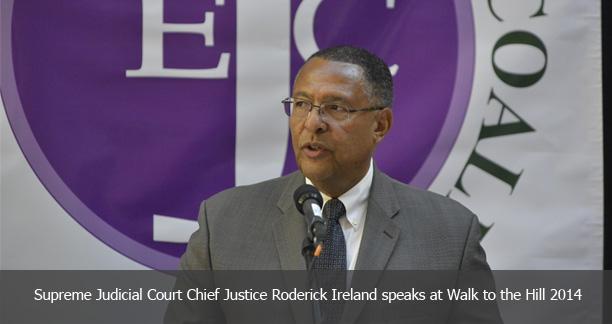 SJC Chief Justice Roderick Ireland