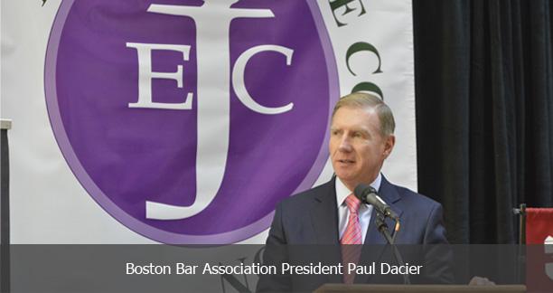Boston Bar Association President Paul Dacier