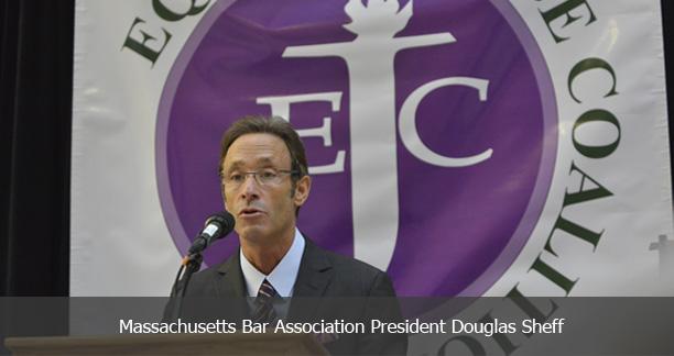 Massachusetts Bar Association President Douglas Sheff