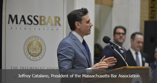 Jeffrey Catalano, President of the Massachusetts Bar Association