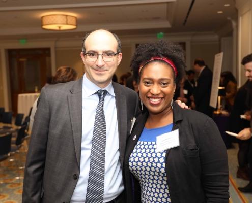 Jonathan Mannina and Tonysha Taylor