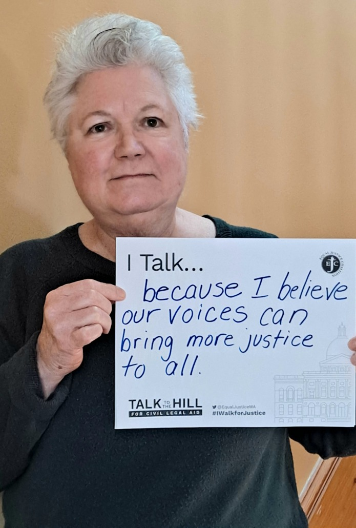 I talk because I believe our voices can bring more justice to all
