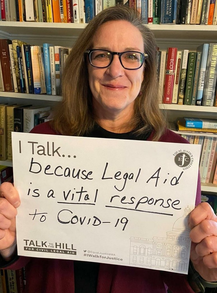 I talk because legal aid is a vital response to covid-19