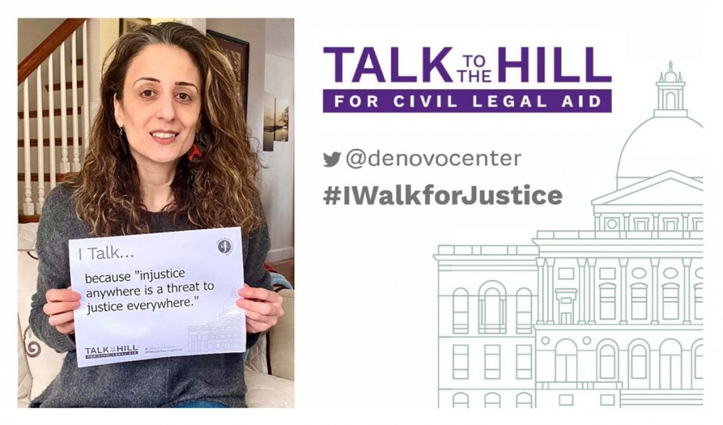"""I talk because """"injustice anywhere is a threat to justice everywhere."""""""