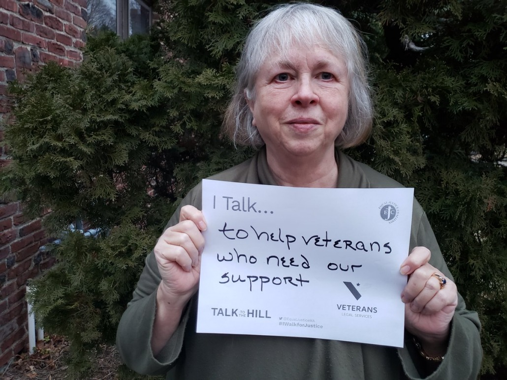 I talk to help veterans who need our support
