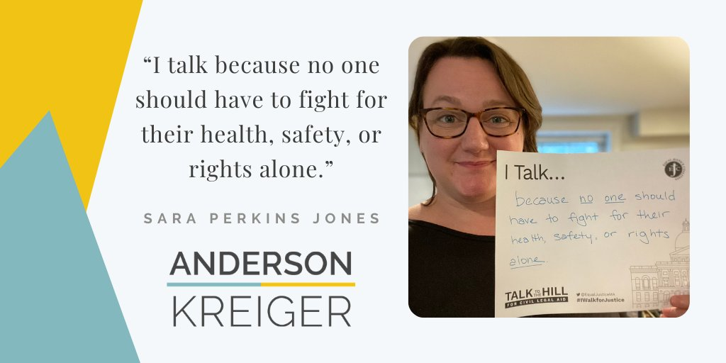 I talk because no one should have to fight for their health, safety, or rights alone