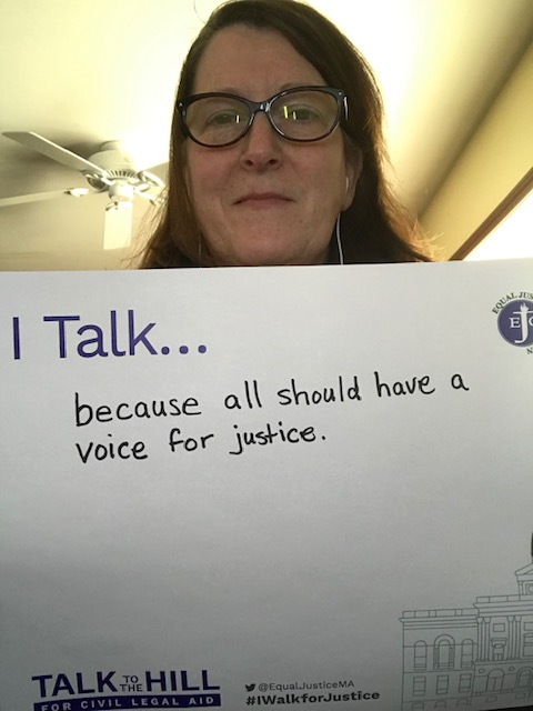 I talk because all should have a voice for justice