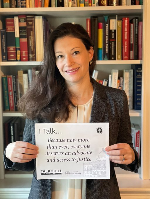 I talk because now more than ever, everyone deserves an advocate and access to justice